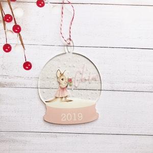 Christmas Bauble - Kangaroo Australian Christmas Ornament