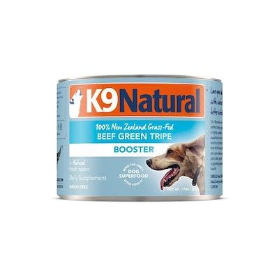 K9 Natural Beef Green Tripe Wet Dog Food Supplement 170g (Booster)