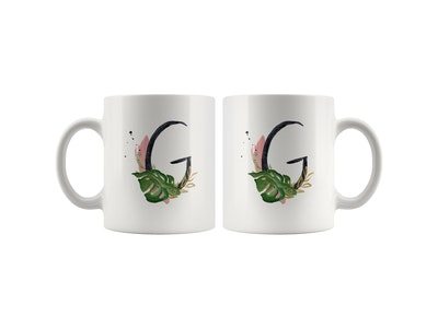 Great Functional Goods White Ceramic Mug: Alpha Daily Mug