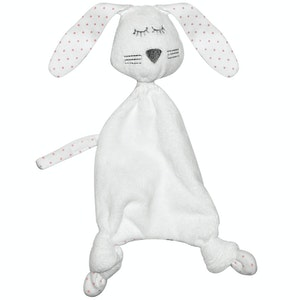 Silly Billyz Pink Spot Jersey Rabbit Snuggypop