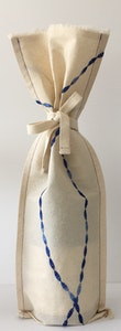 by G  by JoVe - Earth Friendly Fabric Gift Wrap Bag - Wine Surprise SINGLE gift bag