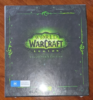 World of Warcraft: Legion - Collector's Edition, Sealed