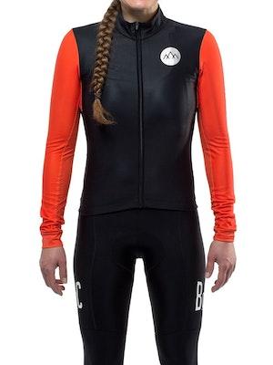 Band of Climbers Women's Pro Seasons Jersey - Black/Orange