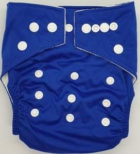 Hippybottomus Stay Dry Bamboo Cloth Nappy - Royal Blue