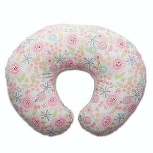 Chicco French Rose Boppy Pillow Slipcover Only
