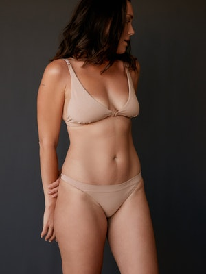 The Base bra - Clay