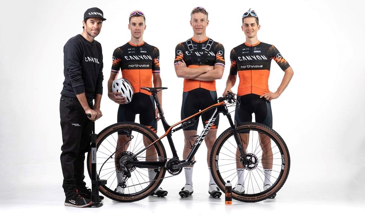 "WELCOME TO THE NEWBORN  ""CANYON NORTHWAVE MTB TEAM""!"