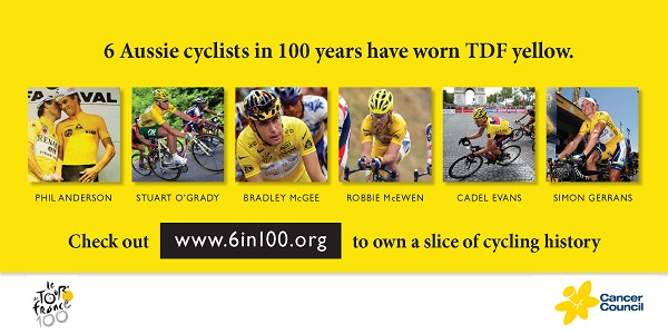 WIN a Jersey Signed by 6 Australian Tour De France Stage Winners