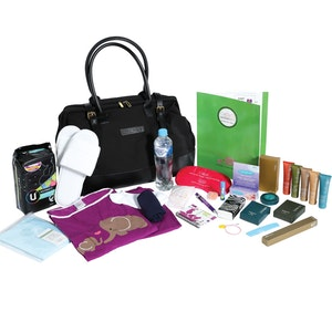 MaternityBag Starter Hospital Bag (packed) Black (Medium)