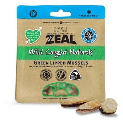 ZEAL FRN Zeal Green Lipped Mussels Dog Treats 50G