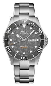Mido Ocean Star 200C - Stainless Steel and Ceramic Bezel - Stainless Steel Bracelet