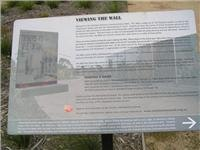 How to view the Vietnam Veterans Commemorative Walk  wall