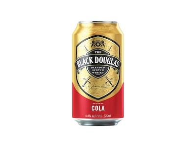 Black Douglas Whisky & Cola 4.4% Can 375mL
