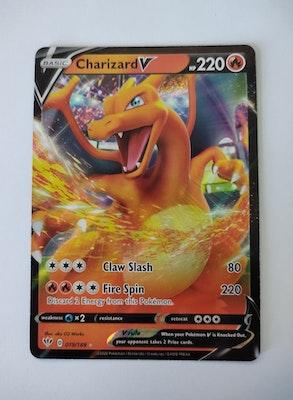 Charizard V 019/189 Ultra Rare Pokemon Card
