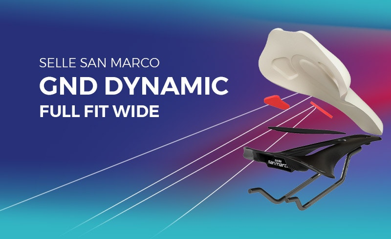 Selle San Marco Gnd Dynamic Full Fit Wide