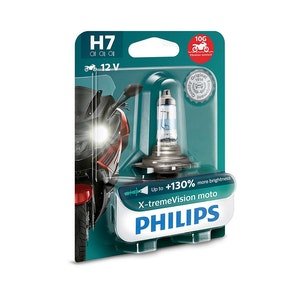 Philips X-tremeVision Moto H7 PX26d 55W Headlight Bulb