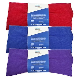 Surgical Basics Safe Home Care Silicone Bead Heat Pack Assorted Colours 38cm x 18cm