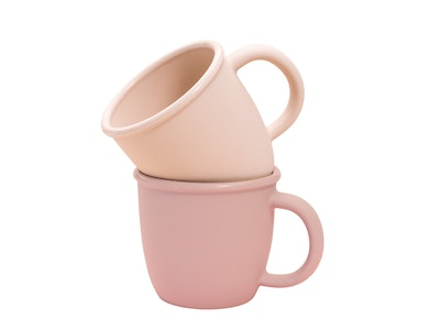 The Scandi Baby Co Babychino Cup - Silicone Toddler Coffee Cup, Dishwasher & Microwave Safe - Perfect Gift 2021