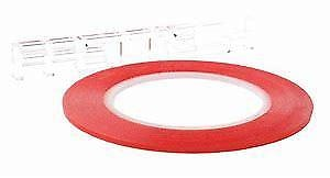 Double Sided Tape Red 5mm 50mtr Roll