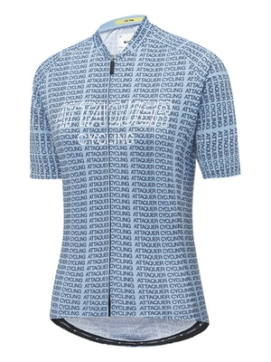 Attaquer Womens All Day Typo Jersey Steel Blue