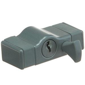 Whitco Sash Window Lock-Silver W2205311C4
