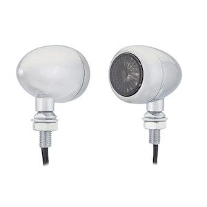 Curva LED Indicators - Chrome