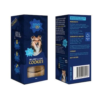 Doggylicious Hip Joint & Coat Dogs Tasty Treats 160g