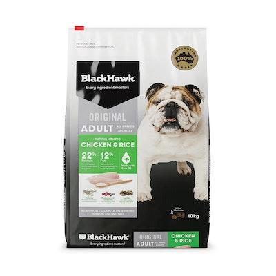Black Hawk Original Adult Chicken & Rice Dry Dog Food