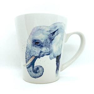 artbrush mug 'SAHARA SERIES Edward Elephant'