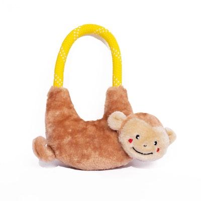 Zippy Paws Ropehangerz Monkey