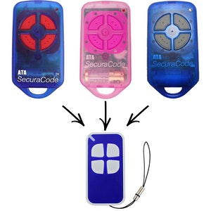 Remote Pro ATA PTX4 Securacode Compatible Remote