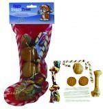 Warragul Pet Emporium Xmas Stocking With Treats & Toys 12pcs