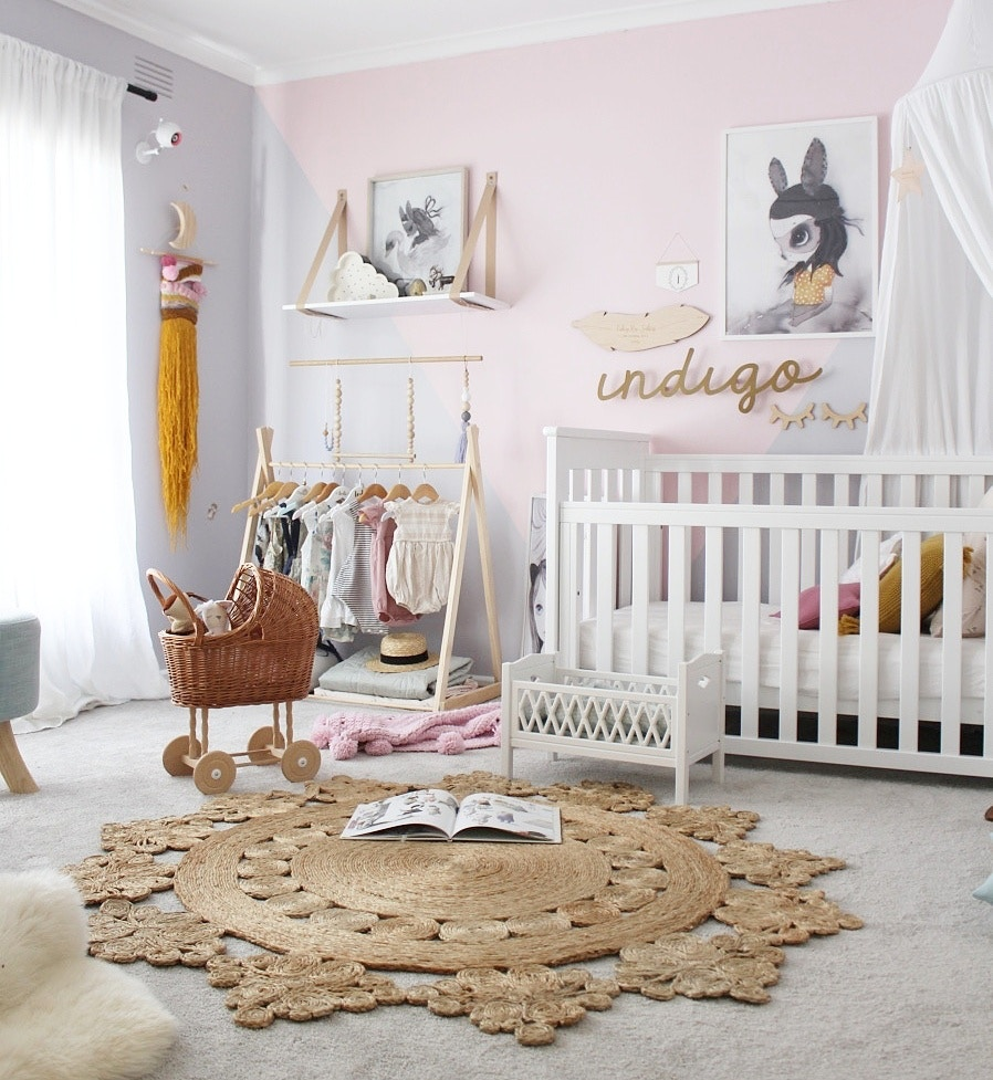Autumnal Girls Bedroom by Indi & Bear