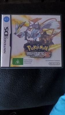 Pokémon White 2 Genuine Aus Cart + Case + Manual