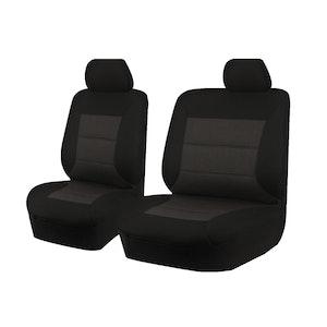 Premium Car Seat Covers For Holden Colorado Rg Series 2012-2016 Single Cab | Black