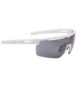 Avenger Sport Glasses - Matt White, White Temple Tip  - BSG-57-07-NS