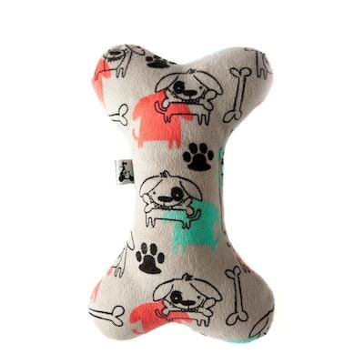 La Doggie Vita Novelty Plush Toy with Squeaker