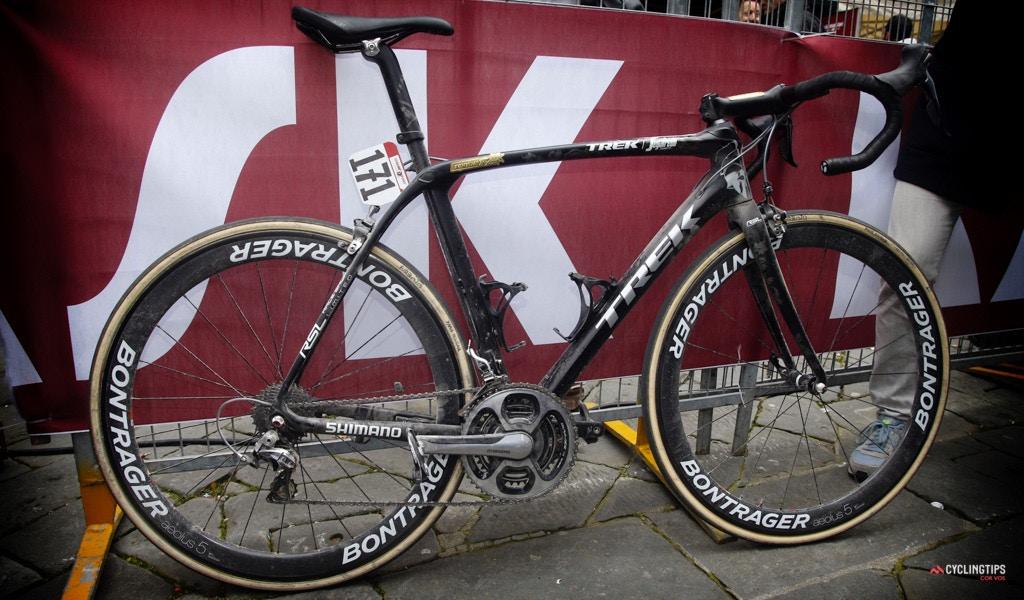 Trek Domane 2017: De nieuwe fiets van Fabian Cancellara