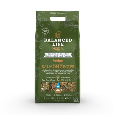 BALANCED LIFE Salmon Air Dried Dog Food 3.5kg