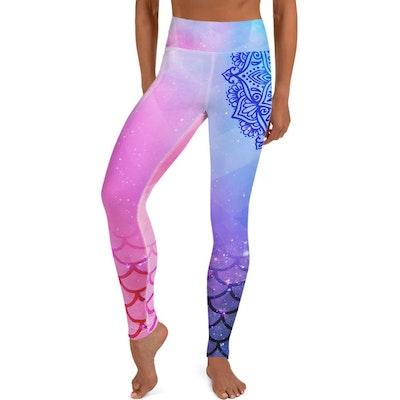 Yoga Pants Store Believe In Magic Vishuddha Yoga Leggings