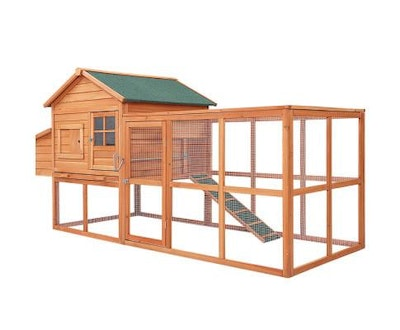 House of Pets Delight XL Pet Chicken Rabbit Hutch with Large Run