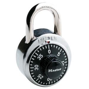 Master Lock Combination Dial School Locker Padlock