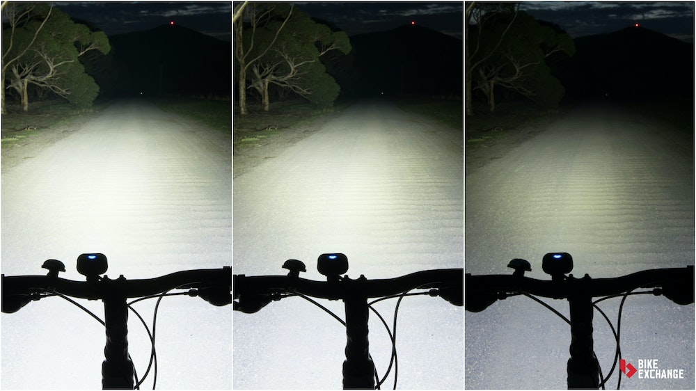 bicycle light buyers guide light setting comparison BE