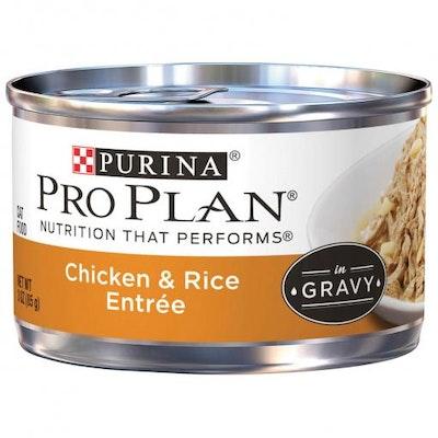 Pro Plan Savour Adult Chicken & Rice Entree Wet Cat Food 85G