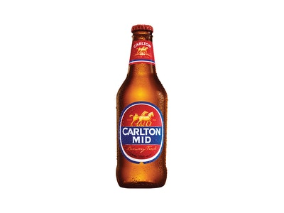 Carlton Mid Bottle 375mL