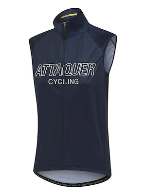 Attaquer Womens All Day Outliner Gilet Navy