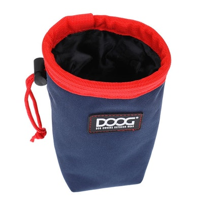 Doog Good Dog Treat Pouch - Navy & Red (Small) *NEW*