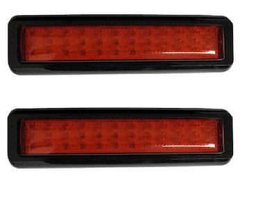 Red Stop / Park LED Tail Light x 2 Multivolt