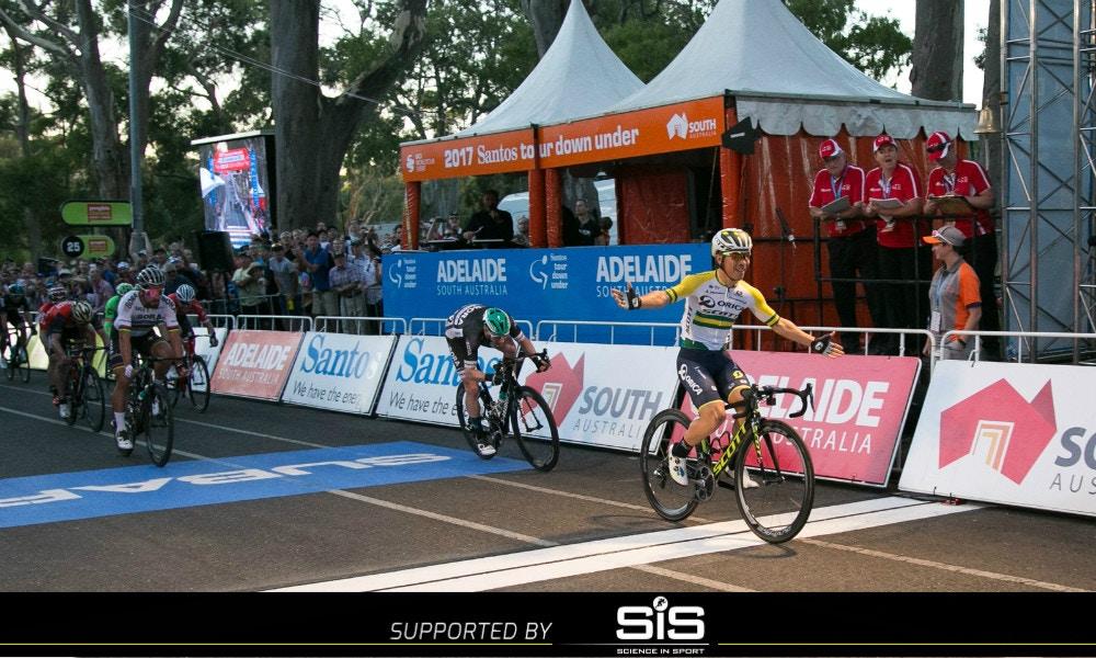 Caleb Ewan sprints to People's Choice Classic Victory