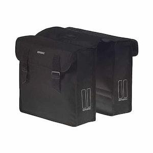 Basil Mara Double Bag 26L Black